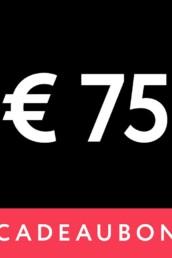 Mania Cadeaubon € 75